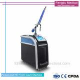 피코세컨드 귀영나팔 제거 1064nm 532nm ND YAG Laser 시스템