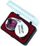WCLO-600550D1 10X 21mmの宝石屋ルーペ拡大鏡か携帯用宝石類の拡大鏡