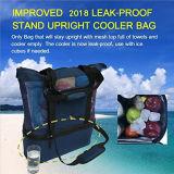 Sac de plage de maillage isolé avec sac rigide Leak-Proof refroidisseur