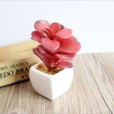 Fiore artificiale chiaro delle piante artificiali della decorazione dell'ufficio della camera da letto della festa nuziale