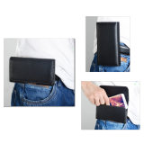 PUのベルトクリップが付いている革ホルスターの袋の箱、AppleのiPhone 8/iPhone 7のための革札入れの箱