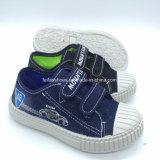 Best Seller de lienzo de inyección de Children's Magic Tape calzado zapatos de niños de escuela (HH18512-4)