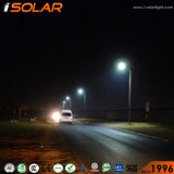 One Lithium Battery Solar Street Lightの最も明るい50W Integrated All