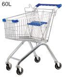 도매 슈퍼마켓 금속 식료품류 쇼핑 손수레 트롤리