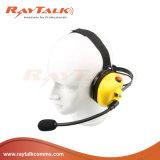 Los walkie talkies Behind-The estilo cabeza Auriculares con reducción de ruido