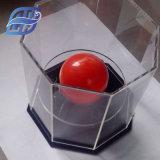 結婚式キャンデーの赤く明確な中心の形の結婚式の好意ボックス