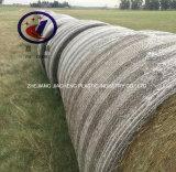 백색 100%년 HDPE 포장기 그물 포장 짐짝으로 만들 그물