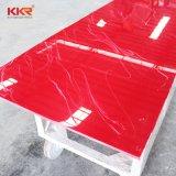 Декоративные материалы красным мрамором с твердой поверхности (181204)