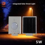 5W高性能の統合された太陽Steetライト