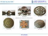 カスタム黄銅によってめっきされる亜鉛合金型のベルトの留め金