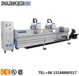 Fachada de aluminio de la producción de centro de la máquina