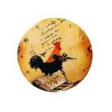 Robinet d'artisanat en bois RoHS Horloge murale décoration maison