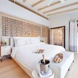 純粋な綿の白いサテンのホテルの寝具のホテルの寝具(JRD766)