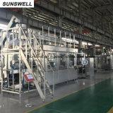 부는 채우는 캡핑 Combiblock를 가진 Sunswell 액체 포장 기계장치