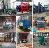 Автоматический роликовый конвейер пескоструйной очистки машины Китая производителя