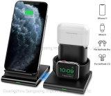 Carregador sem fio, 3 em 1 Wireless Estação de carregamento para Apple assista, Airpods, destacável e sem fio magnético suporte de carga para iPhone 12 11/11 PRO Max/X/Xs/