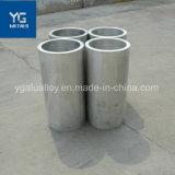 Sin Fisuras extruido recubierto de polvo de tubo de aleación de aluminio de tubo de aluminio anodizado decorativos