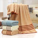 100% algodão toalha com logotipo Bordado Hotel Face de algodão Toalha de banho