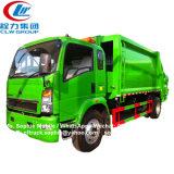 HOWO 3-5tonne faible capacité de le compacteur Camion Poubelle