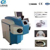 La saldatrice del laser dei monili per la lega di titanio orna il blocco per grafici Dentals di vetro