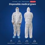 L'isolement médical Vêtements de protection jetables salopettes chirurgicaux adaptés à la sécurité de l'atelier