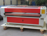 Alimentación automática de CO2 de tela de PVC Papel lija de la máquina de corte por láser