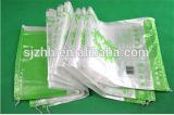 Saco tecido PP transparente da boa qualidade para o arroz/milho de empacotamento