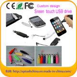 스크린 접촉 USB 섬광 드라이브 다기능 USB 펜 드라이브 기억 장치