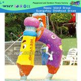 Fumetto di spruzzatura della sosta dell'acqua per il gioco dei capretti (HD-7304)