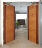 Porte coupe-feu en bois avec la nomenclature Trada certifié et plus de haute qualité