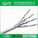 Cat7 LAN Jasje het van uitstekende kwaliteit van pvc LSZH van de Kabel SFTP