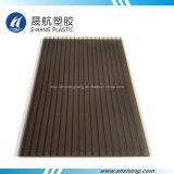 対の壁の日除けのためのプラスチックポリカーボネートの屋根のパネル