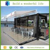 安いプレハブの輸送箱木造家屋のレストランキット