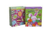 Sacchi di carta diretti di Ctory Pasqua per Pasqua con la timbratura calda della modifica di caduta