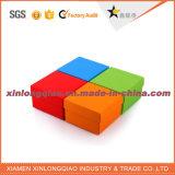 Contenitore ondulato personalizzato di scatola del regalo, casella ondulata con il marchio stampato
