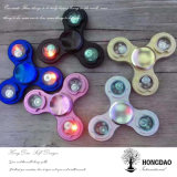 Hongdao Zoll-späteste Entwurfs-Tri Spielzeug-Metallhandbunte Unruhe Spinner_D