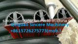 Chaîne de production ondulée de pipe de spirale de HDPE