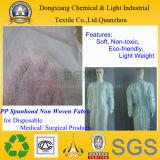 Tessuto non tessuto dei pp per i prodotti medici e chirurgici a gettare