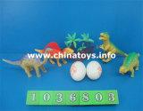 Bon marché de jouets en plastique souple de bonne qualité Dinosaur Set (1036802)