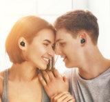 De nieuwe Mini Stereo Draadloze Onzichtbare Hoofdtelefoon van de Hoofdtelefoon van de Oortelefoon van het Oor Bluetooth