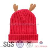 Chapéu feito malha inverno das crianças do projeto dos cervos
