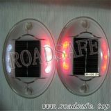 Pavimentazione di strada solare della vite prigioniera della strada di visibilità LED della plastica 360