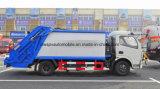 6 camion d'ordures de compacteur de Cbm du camion 6 de transport de déchets de T 4X2 Rhd LHD