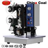 Semi автоматическая машина для прикрепления этикеток стикера, с принтером Кодего