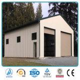 Almacén aislado casa prefabricada vertido fábrica China de la estructura de acero