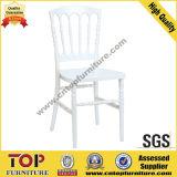 Cadeira elegante do banquete do casamento do branco PMMA do hotel