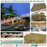 Synthetische Palapa met stro bedekt Paraplu van het Strand van de Bungalow van het Water van het Plattelandshuisje van de Staaf Tiki/van de Hut Tiki de Synthetische Met stro bedekte