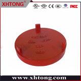 Xinhuitong duttile ghisa, raccordi scanalati, tappo estremità tubo/con concentrico Foro
