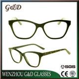 Het recentste Populaire Frame van het Schouwspel van het Oogglas Eyewear van de Acetaat In het groot Optische
