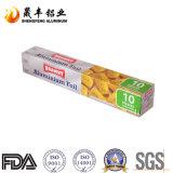 Papel de aluminio del surtidor de China para el envasado de alimentos